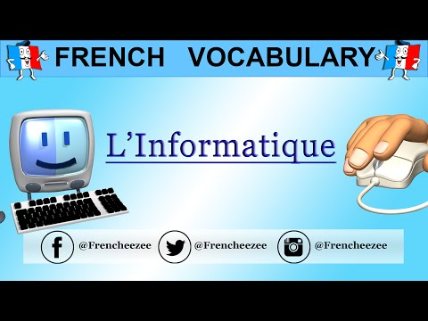 Learn French - FRENCH COMPUTER VOCABULARY - L'informatique