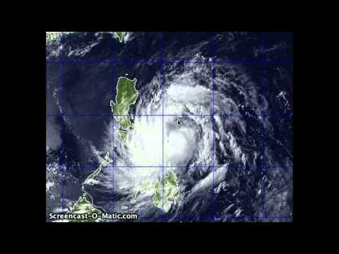 Tropical Storm Aere Evening Update / Bebeng (Pagasa) Landfall along Eastern Luzon