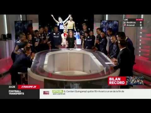 L'équipe 21- Les Bleus médaillés de Zurich racontent leurs épopées.