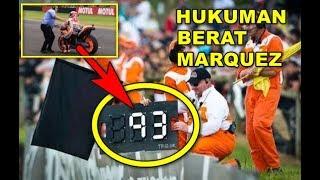 HUKUMAN BERAT Ini Yang Seharusnya di Terima MARQUEZ Usai Tabrak Rossi bukan PENALTY 30 DETIK