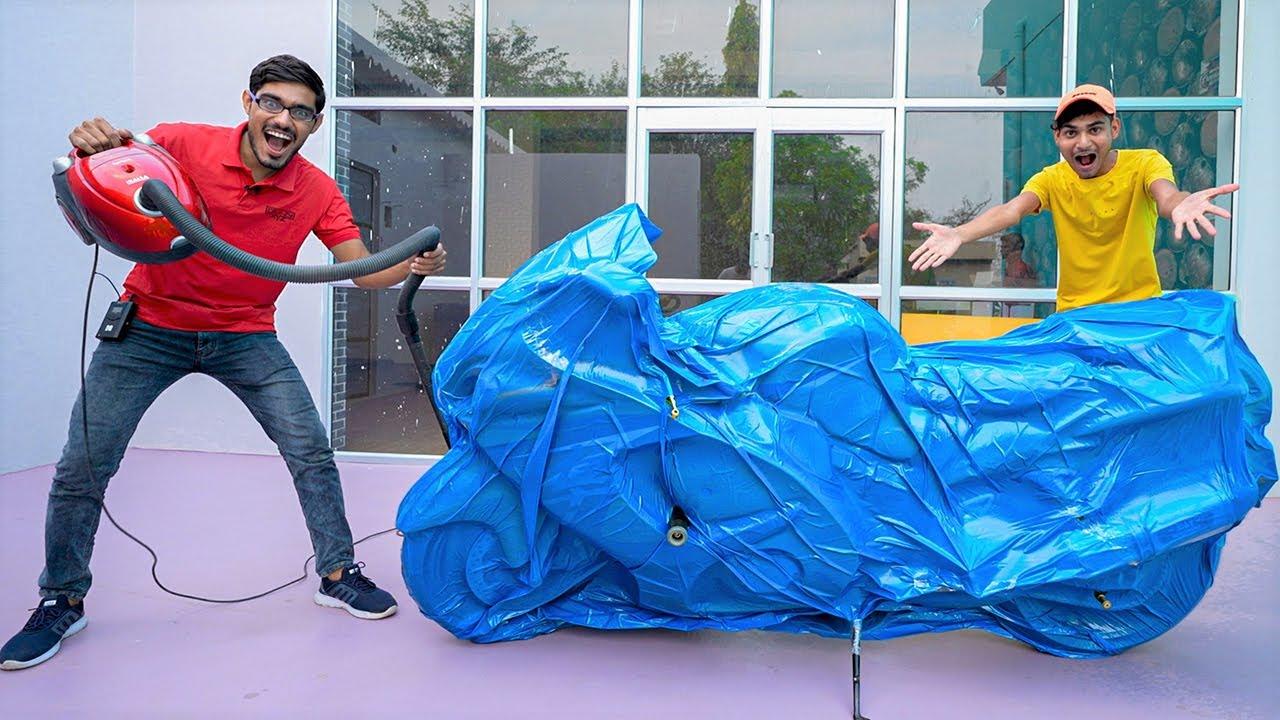 Vacuum Packing Suzuki Hayabusa | Will it Start now?