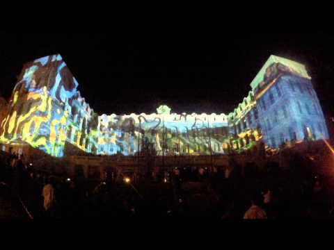 InterContinental Marseille - Hotel Dieu Mapping Inauguration