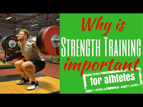 Why is strength training important for athletes I Why strength training is important for athletes
