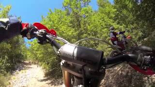 From the bottom to the top. Supermoto killing a mountain. GoPro extreme enduro