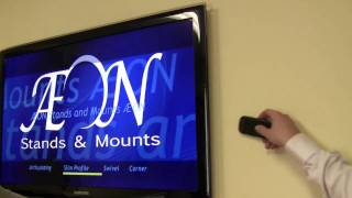 LED TV Mount -- Slim Low Profile Close To Wall TV Mount | AV-Express