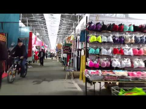 Barakholka Bazaar - Almaty
