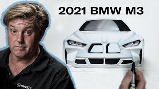 2021 BMW M3/M4 get redesign of controversial face | Chip Foose Draws a Car - Ep. 16