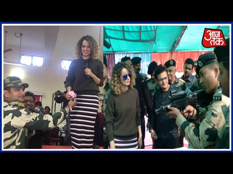 Mumbai 25 Khabare: Kangana Ranaut Reaches Jammu-Kashmir For Rangoon's Promotion