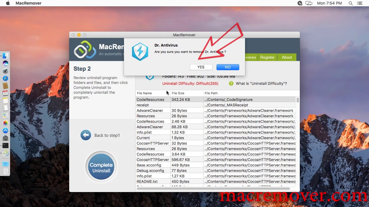 How to remove Dr Antivirus on your macOS and Mac OS X?