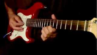 Jeeven ke din chote sahi....Guitar Instrumental..Please use headphones for better sound..{:-)