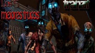 Los 6 mejores trucos de zombis | tranzit  armas y  teletransportes