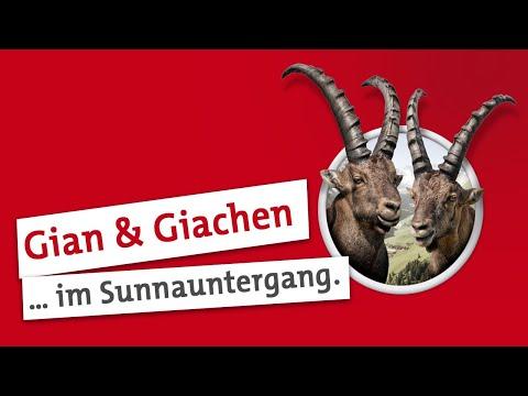 Steinbock Spot Der perfekte Moment mit Gian und Giachen