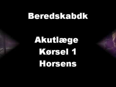 Akutlæge kørsel 1 Horsens
