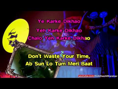 """Party With the Bhoothnath (from """"Bhoothnath Returns"""") Instrumental / Karaoke with Lyrics"""