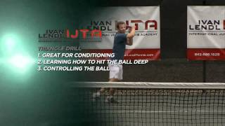 Ivan Lendl Instruction- Fitness Drills