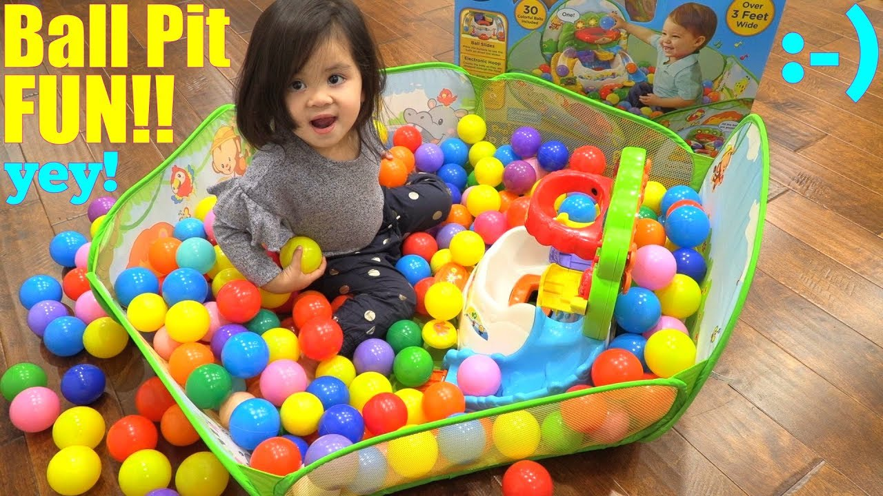 Babies And Toddlers Toys A Ball Pit Pool Of Plastic