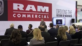 Video still for 2016 Work Truck Show: RAM Commercial Press Conference