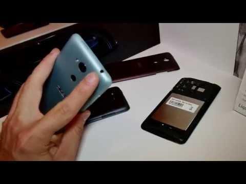 Acer Liquid E600 Hands On [4K]