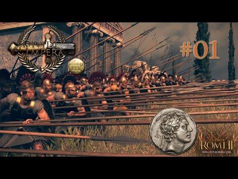 Let's Play Total War: Rome II Divide et Impera - Seleucid Empire 01