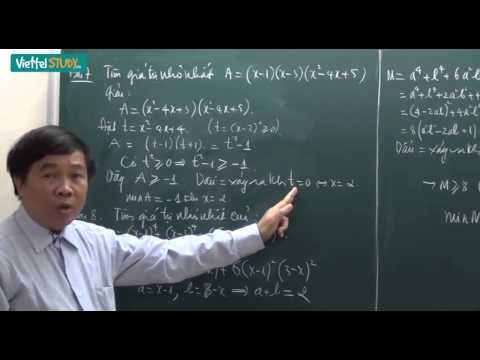 Ôn thi tuyển lớp 10 toán bất đẳng thức Bài 03 Phương pháp đặt ẩn phụ biểu thức chứa căn Tiết 1