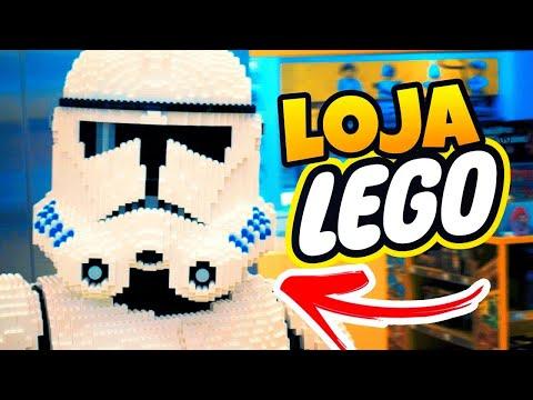 O MAIOR LEGO QUE VOCÊ PODE COMPRAR | Visitando uma Loja LEGO / LEGO Store 1 Ano Depois