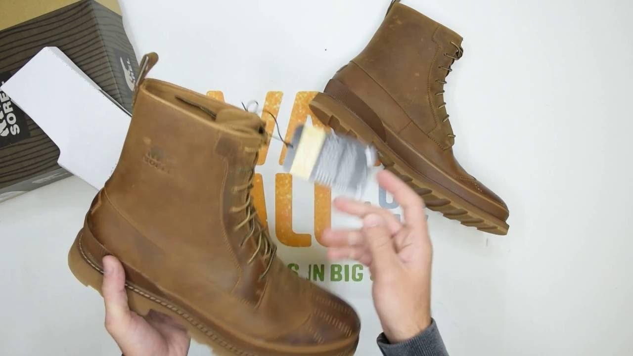 Sorel Madson Wingtip Boot - Chipmunk