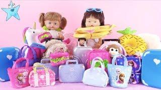 Ani y Ona hacen las maletas nos vamos de vacaciones