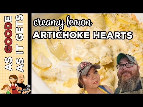 Crock Pot Creamy Lemon Artichokes (Low Carb)