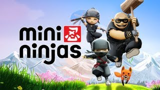 "Mini Ninjas: Walkthrough Level 5 - ""Great River Canyon"" (PC) (HD)"