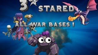 Clash Of Clans | How To 3 Star Every Base Clan Wars th10 and th9s !!! ( Rt vs ha.no1)