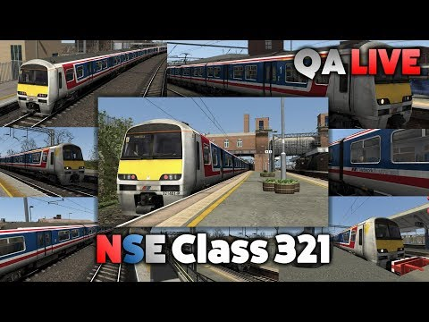 TS 2017 - AP Class 321 (NSE): Shenfield to Colchester - QA LIVE