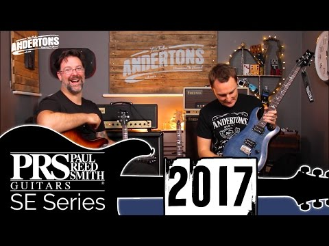 PRS SE Custom - New Guitars for 2017