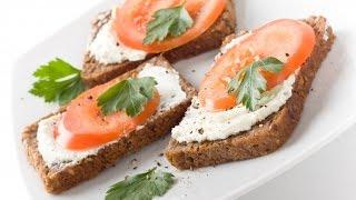 Бутерброды без мяса за 3 минуты!Идея для завтрака + VEGAN вариант