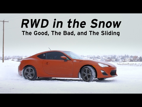 RWD in the Snow - Good Bad & Sliding - Long Term FRS (GT86) #6 - Everyday Driver