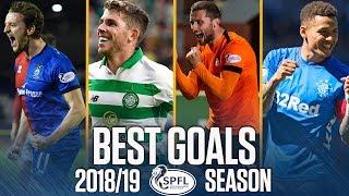 Best Goals of the 2018/19 Season | All SPFL Leagues | Ladbrokes Premiership
