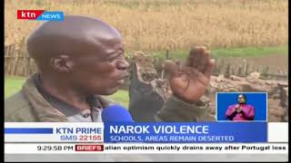 Four villages deserted following the escalation of violence between two communities living in Narok