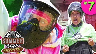 TIE BREAKER PAINTBALL CHALLENGE | Smosh Summer Games: Apocalypse