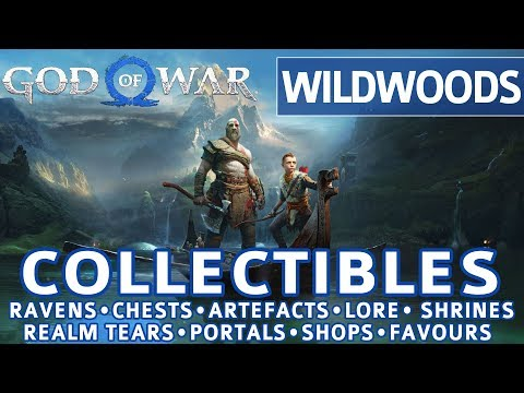 God of War - Wildwoods All Collectible Locations (Ravens, Chests, Artefacts, Shrines) - 100%