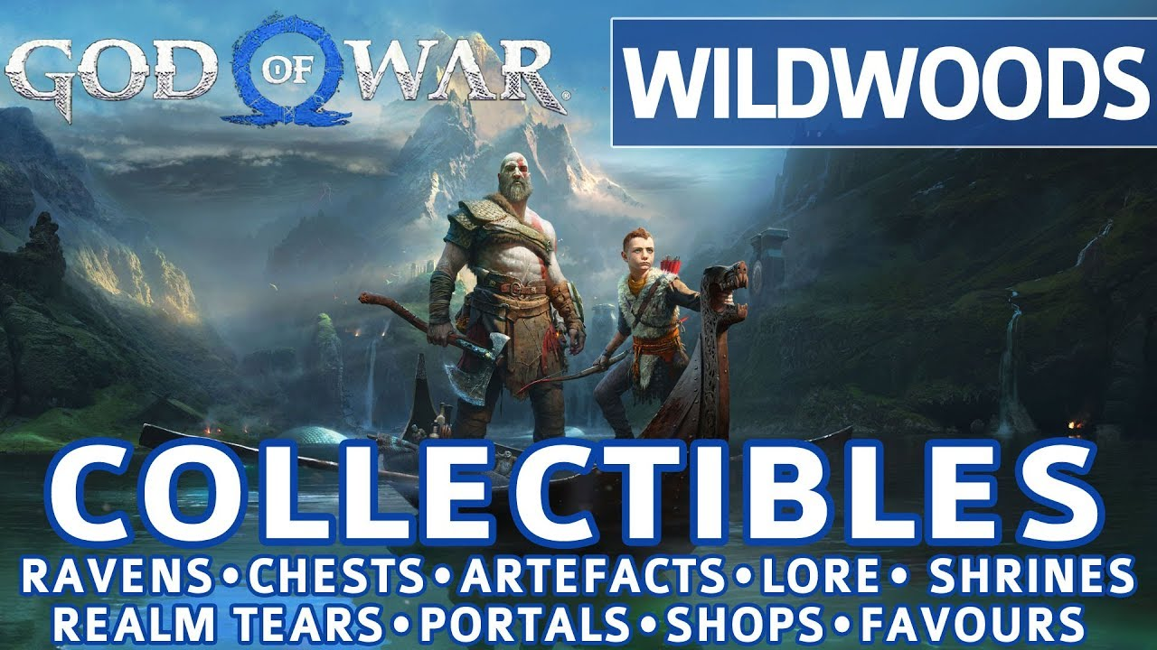 God of War 2018 Collectibles Guide
