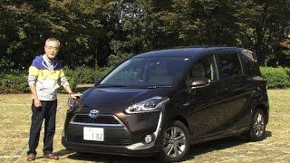 トヨタ・シエンタ HYBRID X 試乗インプレッション 車両紹介編