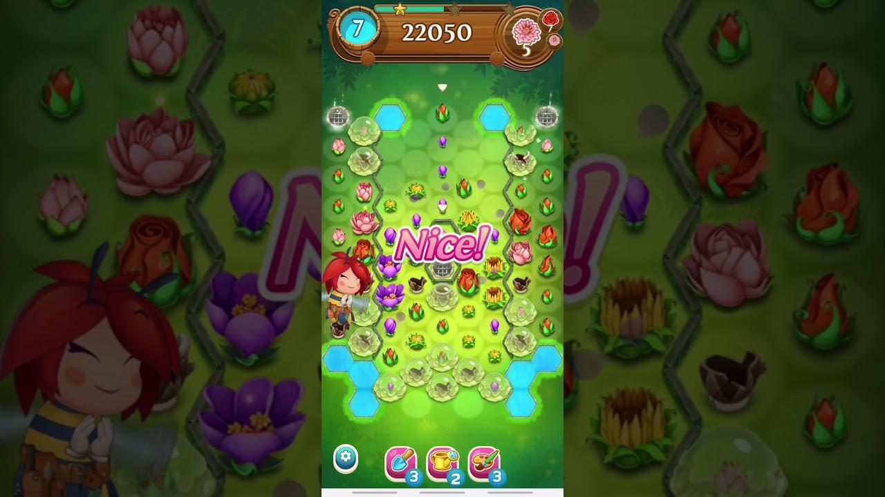 블라썸블라스트사가 Blossom Blast Saga Level 2863