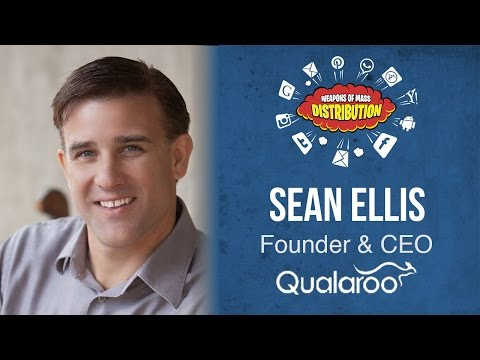 """[WMD 2015] Qualaroo, Sean Ellis """"The Advantages & Challenges Of High-Tempo Testing"""""""
