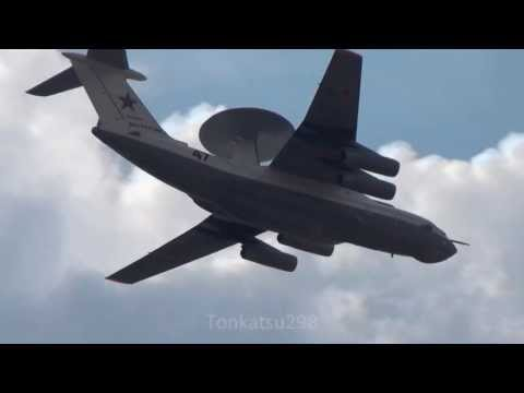Russian Air Force A-50 Mainstay airborne early warning (AEW) aircraft