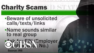 Tips on giving to charity, what you can deduct and scams to avoid