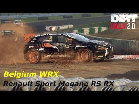 Dirt Rally 2.0 Rallycross - Renault Sport Megane RS RX - Belgium - AI Difficulty Very Hard 100%
