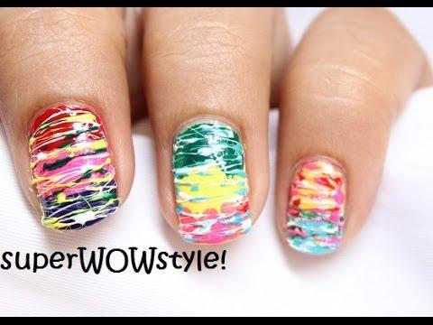 spun sugar - tools nail art