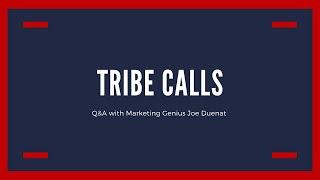 Q&A call with Marketing Genius Joe Duenat