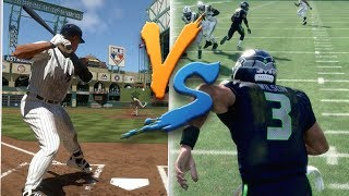 Can Russell Wilson Hit A Inside The Park Home Run Before He Can Get A 99 Yard Touchdown Run?