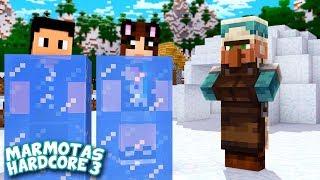 Encontramos a VILA da NEVE, finalmente! - Minecraft Marmotas Hardcore 3 #22