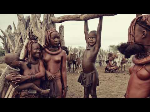 Behind the scenes - Himba Namibia - Jimmy Nelson